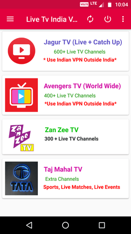LIVE TV INDIA V14 7 AdsFree Apk | PiratedHub