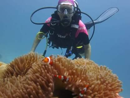 Scuba diving at 50