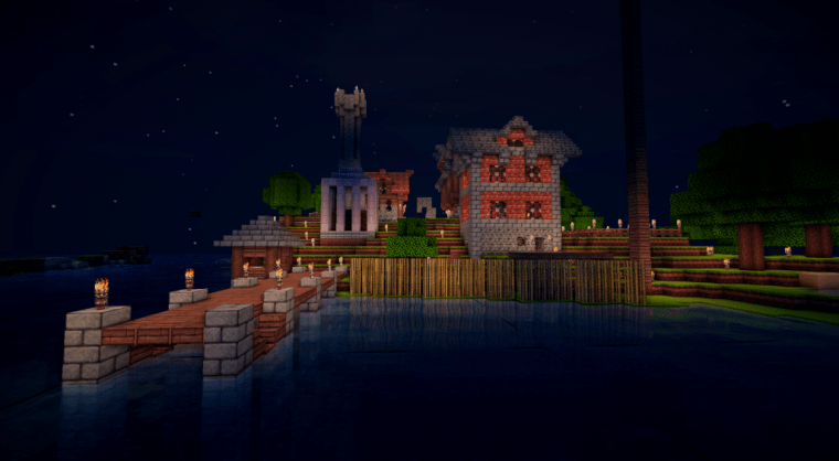 PirateCraft August Build of the month by Harry_Mason2