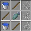 Shot arrows are fast, even underwater. Leftclick to get short effects and boost forward a bit.