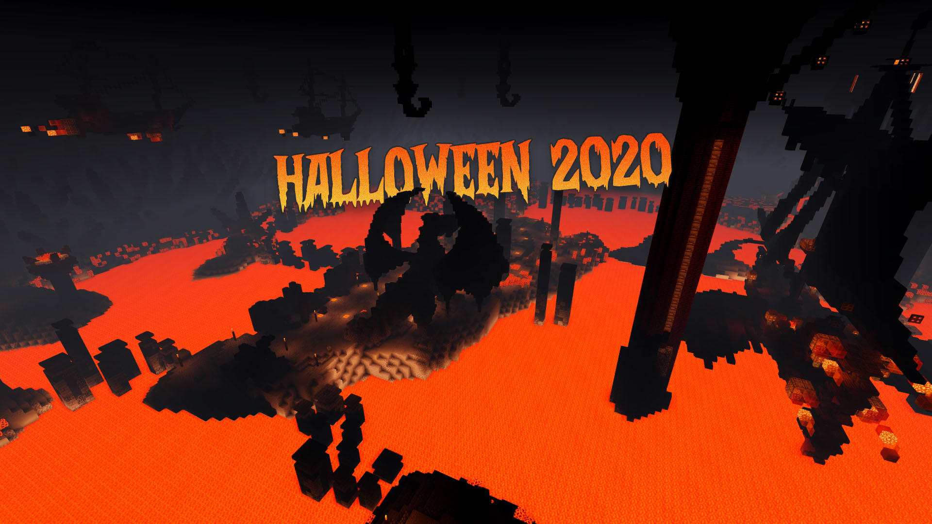 PirateCraft Halloween Event 2020 Custom MineCraft Halloween World