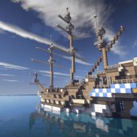 PirateCraft Ship Builds