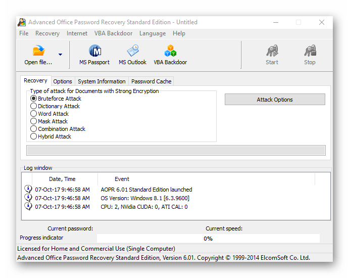 Advanced Office Password Recovery Cracked Version