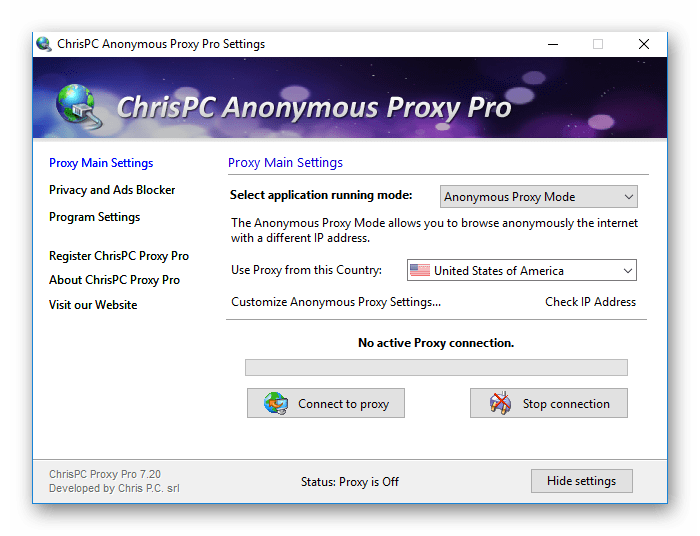 ChrisPC Anonymous Proxy Pro Full