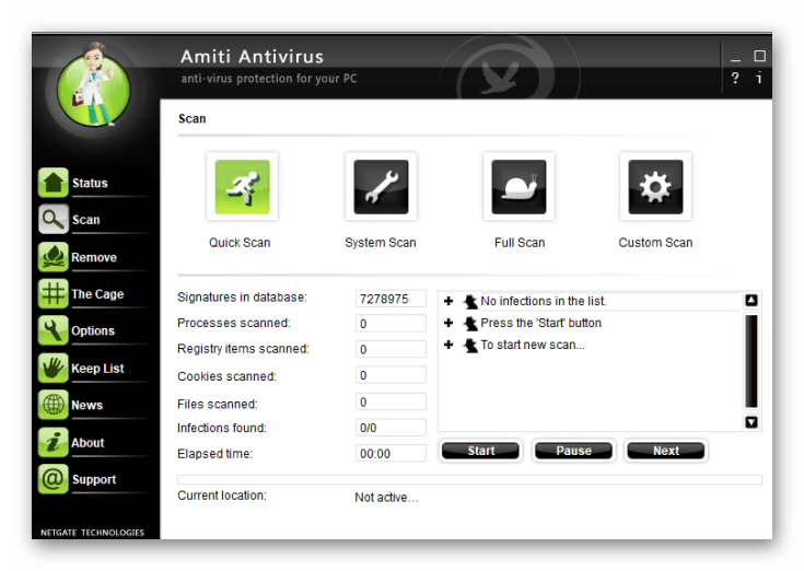 NETGATE Amiti Antivirus 2019 Full Version