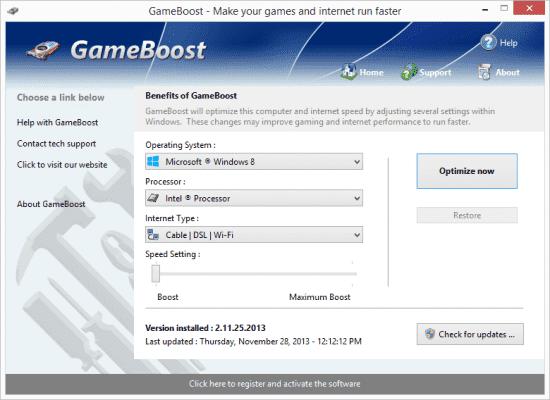 PGWare GameBoost Patch