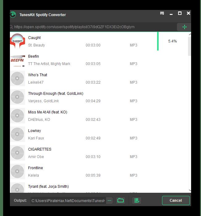 Tuneskit Spotify Converter Cracked Version