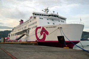 2Go ferry operating a weekly service between Coron and Manil and Coron and Puerto Princessa