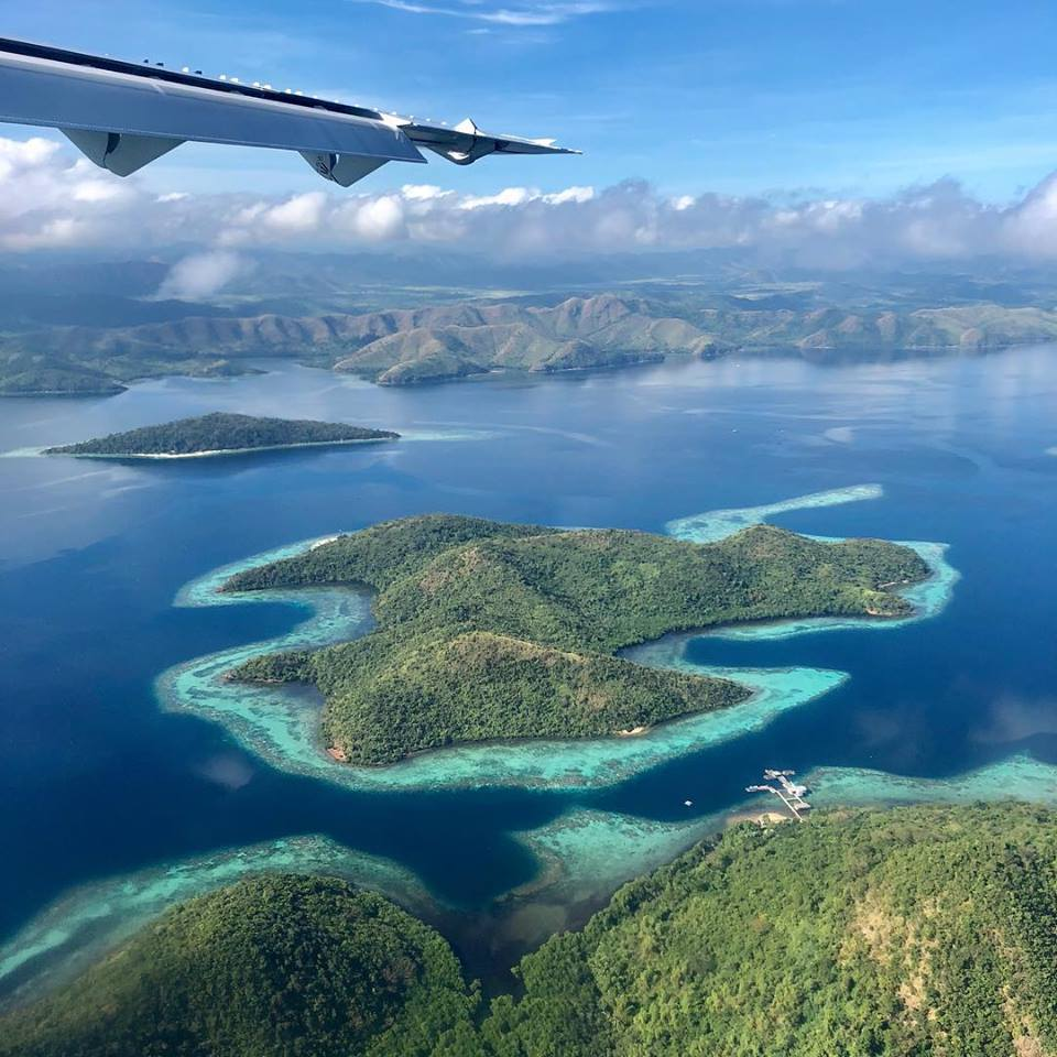 how to get to ooron by air, is to fly to busuanga airport