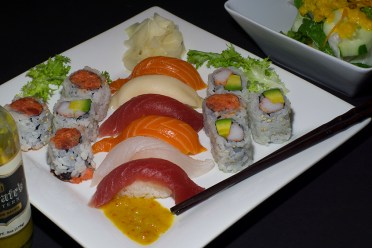 Sushi and hand rolls