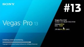 sony vegas pro 13 serial number Crack Latest 2019 Free Download