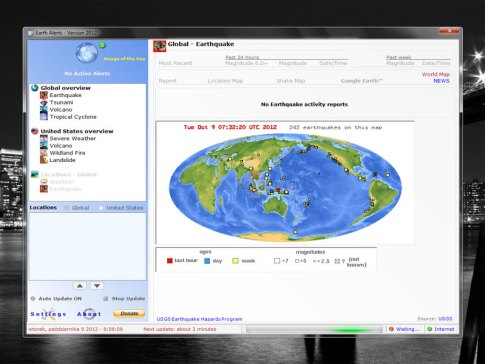 Earth Alerts 2019.1.84 Crack License Key Latest Free Download