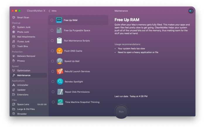 CleanMyMac X 4.6.11 Crack