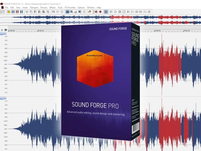 Magix Sound Forge Crack