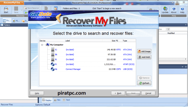recovery my files torrent