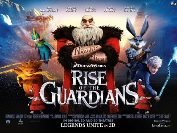 rise of the guardians santa