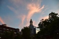 Magic hour in Boston