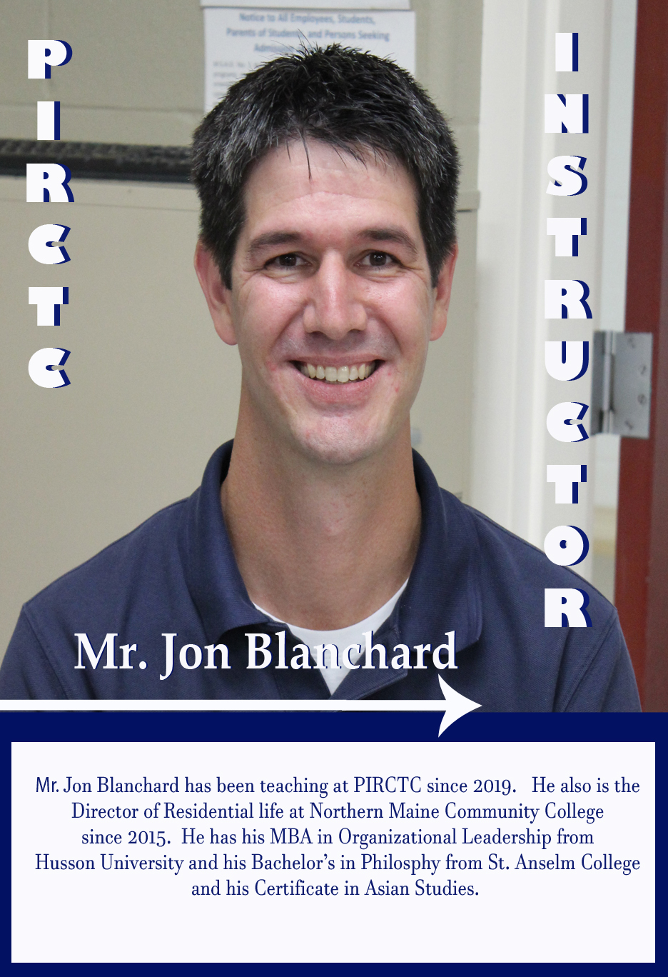 Jon Blanchard : Business Education Instructor