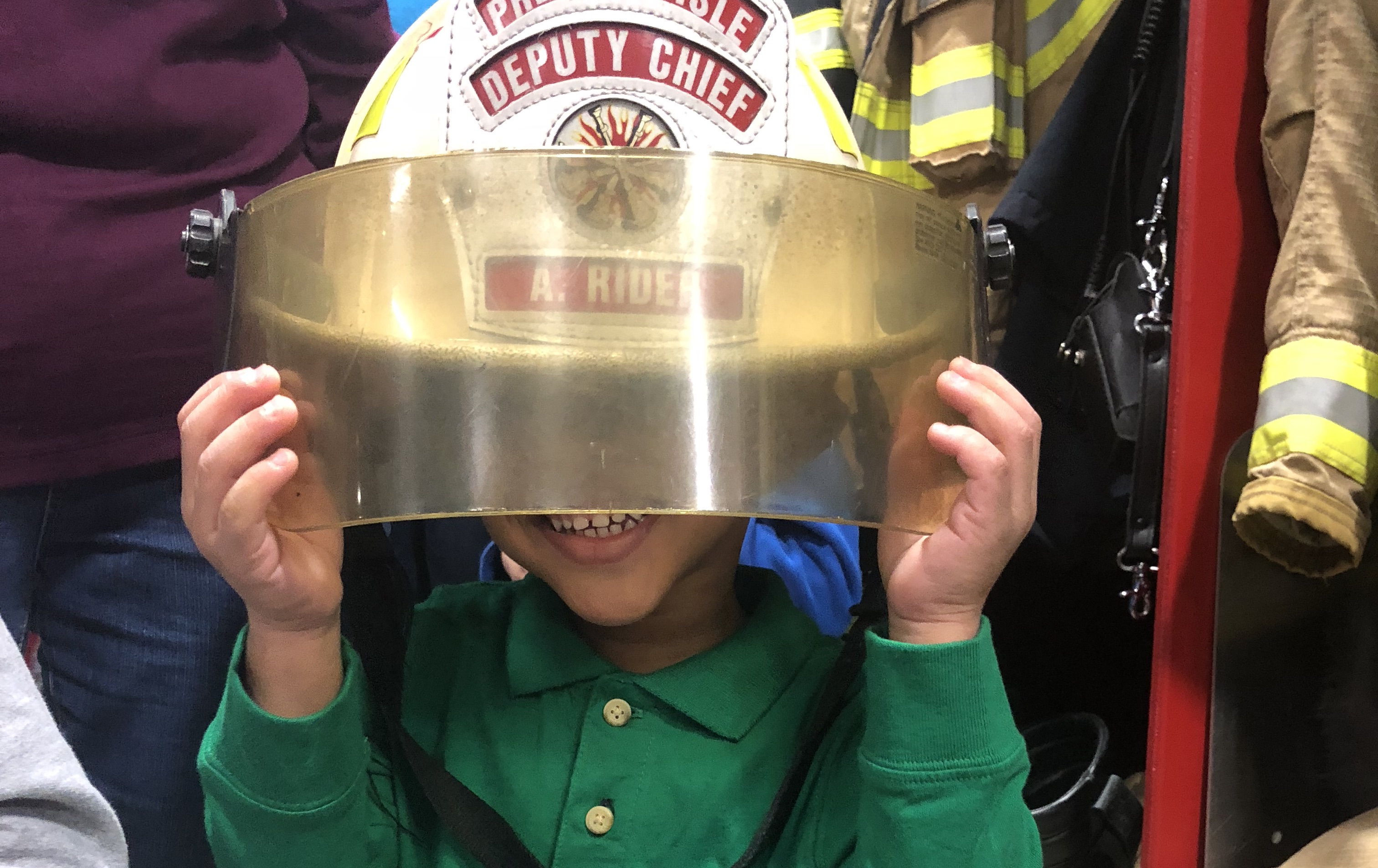 Early Childhood Fieldtrip to Presque Isle Fire Department