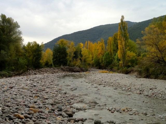 Río Aragón cerca de Castiello
