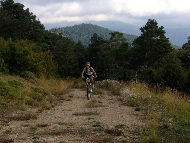 Segunda subida, hacia la sierra de la Contienda, o de Baraguás.