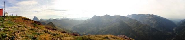 Panoramica Canalroya y Valle del Aragón