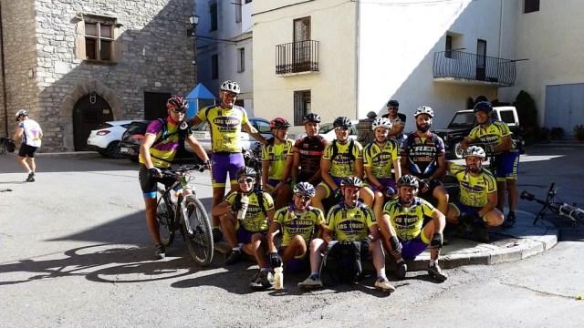 Foto de grupo en Villanúa