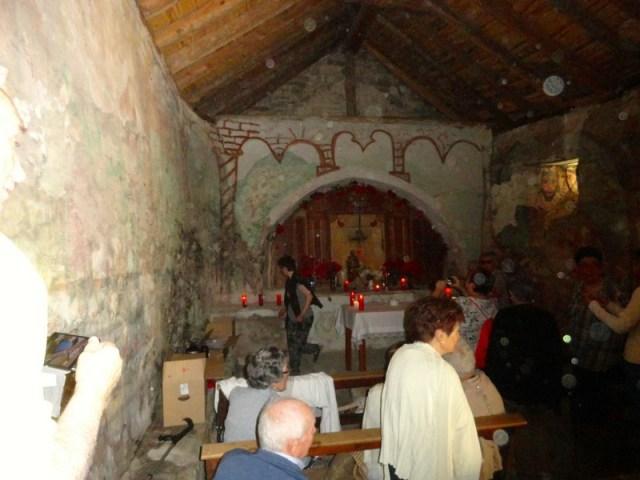 Iglesia de S. Juan, el día de la romería