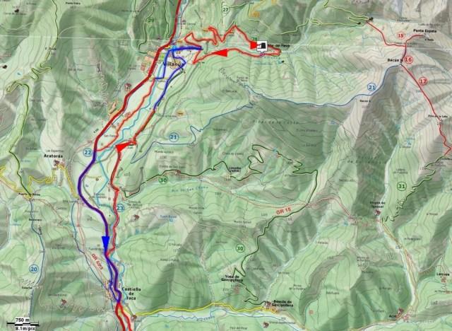 Mapa Fte. el Paco