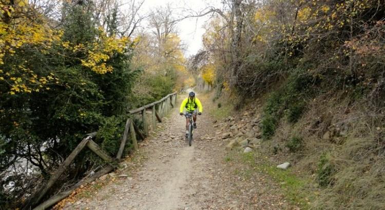 Volviendo a Jaca con los colores del otoño