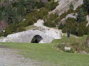 Puente sobre el Ara en Bujaruelo - Ordesa