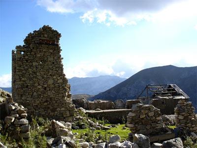 Antiguas minas de Parzán