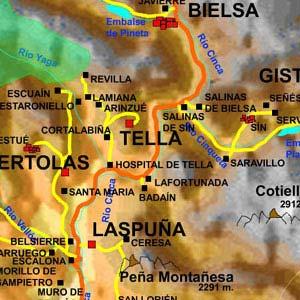 Tella - Sin - Mapa