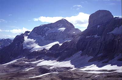 ordesa - glaciar de monte perdido