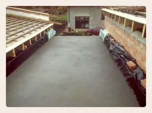 Išbetonuota terasa