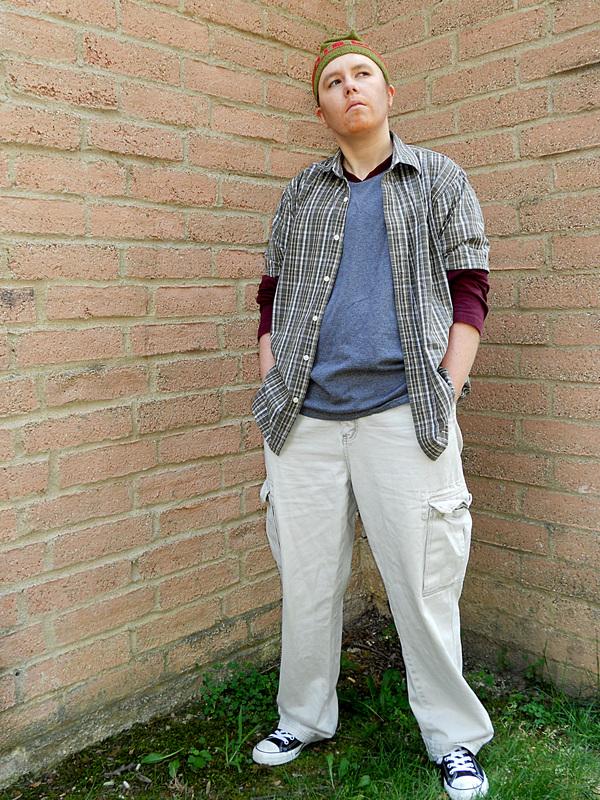Myself as Tim Bisley