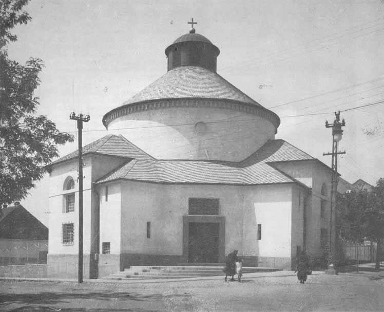 Evangelistička crkva u raskrsnici ispod Kalvarijskog parka