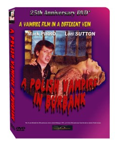 A Polish Vampire in Burbank Box featuring Mark Pirro and Lori Sutton on the cover