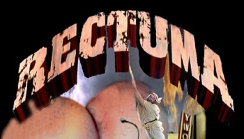 Rectuma featuring J. Michael Raye hanging from a rope