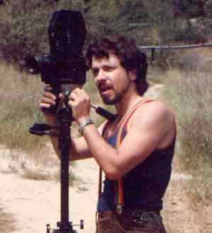 "Pirro shooting ""Curse of the Queerwolf"" in 1986"