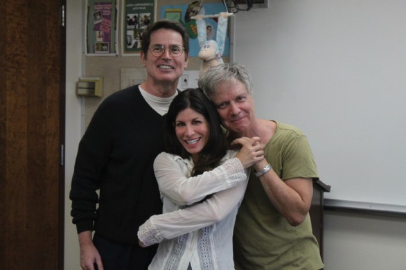 The original team: John McCafferty, Dani Leon, Mark Pirro - making movies together for decades.