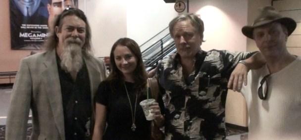 Actors Scott MacLaughlan, Lauren Baldwin, Douglas Macphersen and director Mark Pirro attending the pitiful Burbank International Film Festival