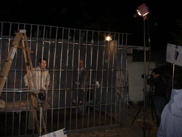 jail wide shot behind scenes
