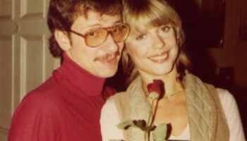 Filmmaker Mark Pirro and early Pirromount actress Jane Jasper circa 1980