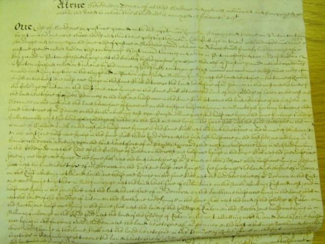 1686 A deed from Hals DE324