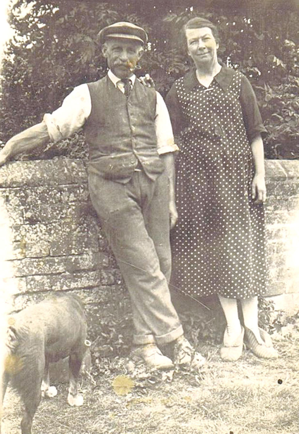 George Weedon and his wife