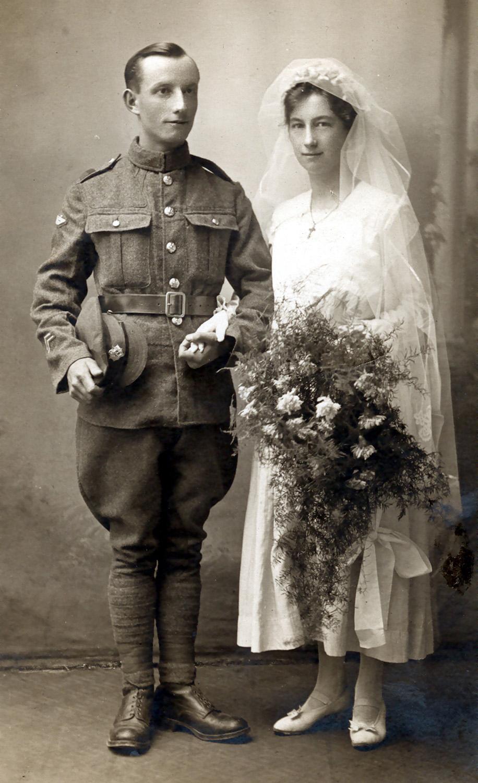 Tom Lake and Miriam Weedon married in February 1917.