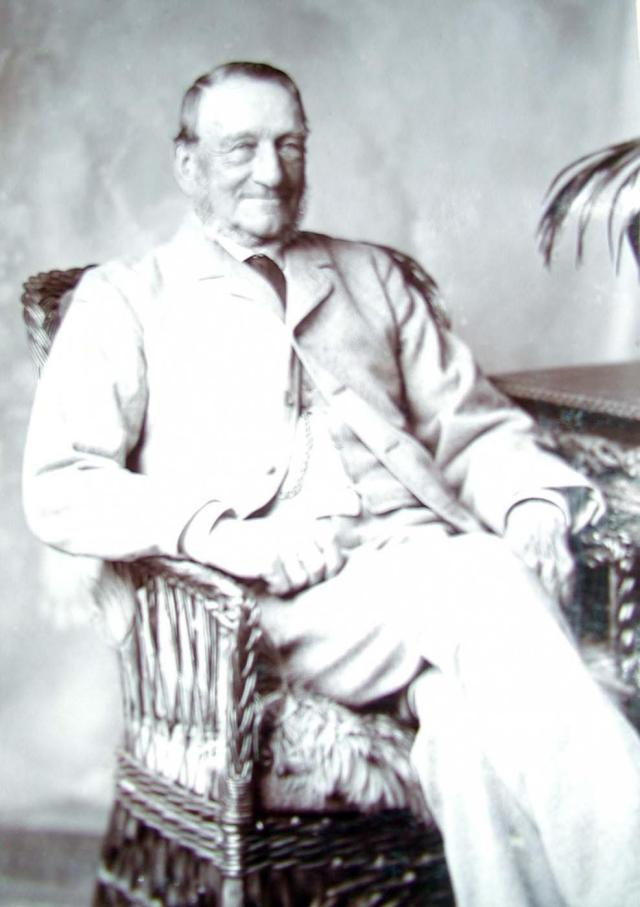 Robert Davis took over Rectory Farm after his father Daniel