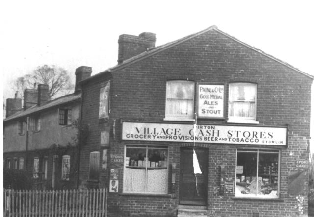 Andrews shop on the corner of Town St and Wet Lane