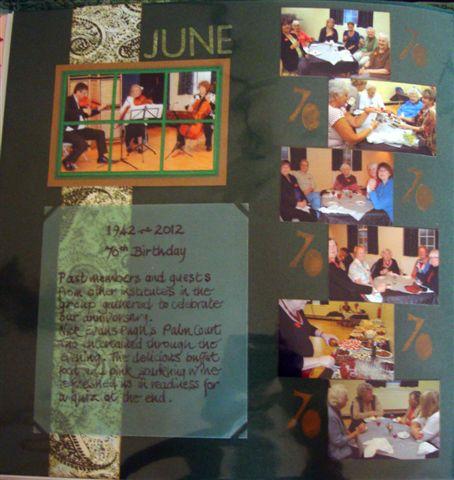 June 2012 The Seventieth Party